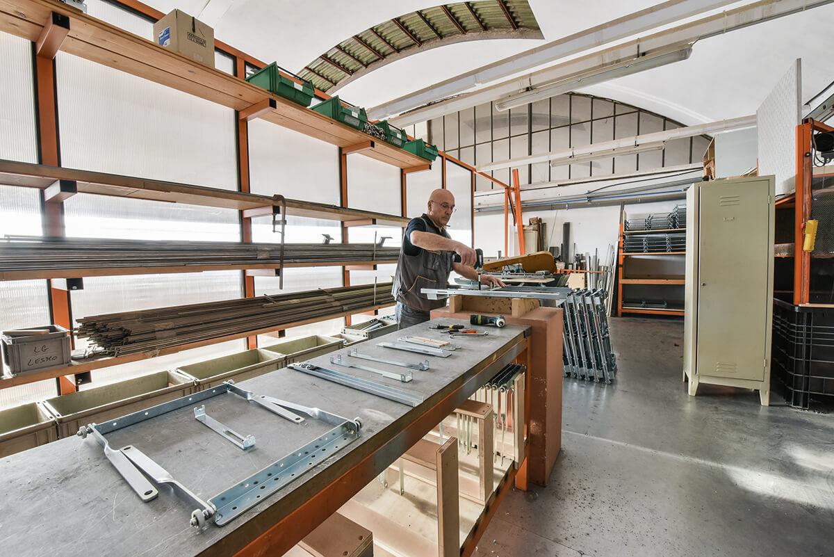 tavoli allungabili made in Italy in vero legno e metallo