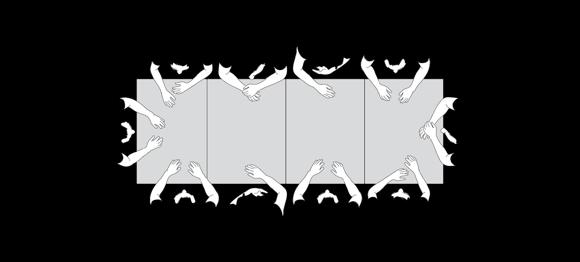 Consolle allungabili design 8/10 posti tre prolunghe