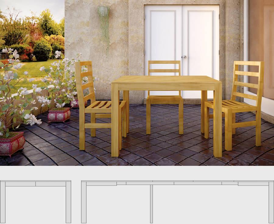 Tavolini trasformabili - LG Lesmo