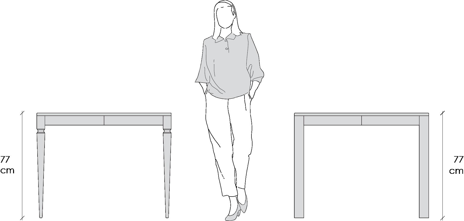 tavoli classici allungabili classico moderno