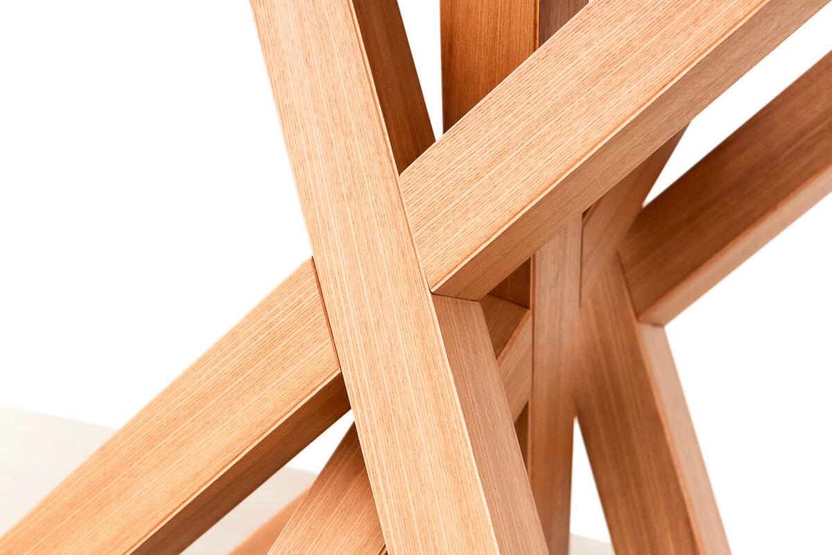 Tavolo rotondo allungabile legno