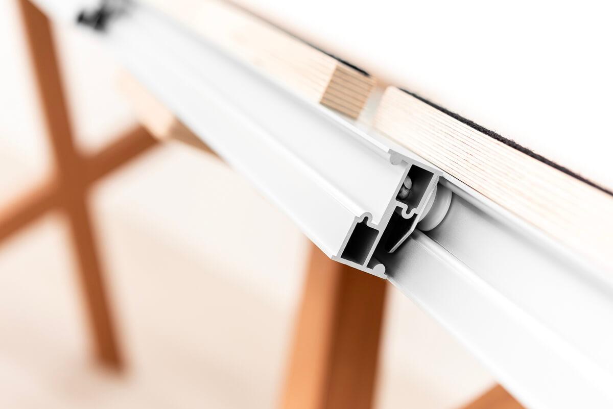 Tavolo rotondo allungabile resistente