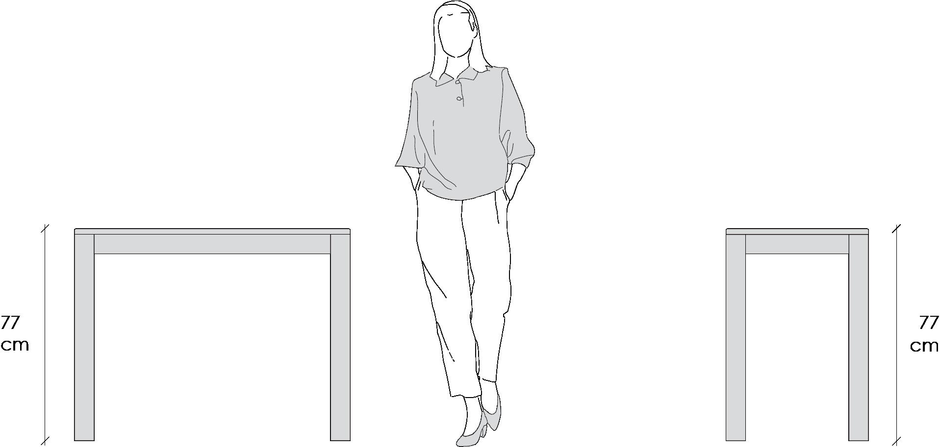 Dimensioni Tavolo Quadrato Per 4 Persone.Consolle Allungabile Lg Lesmo