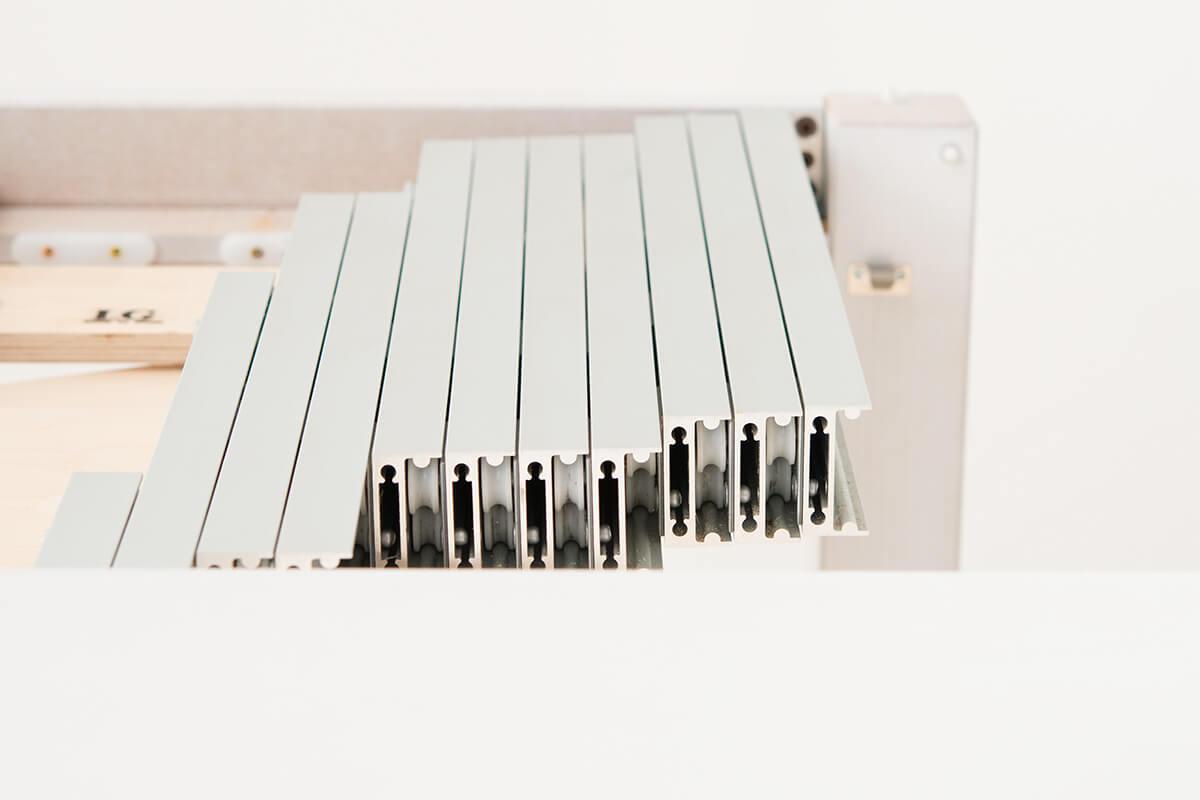 Console repliable
