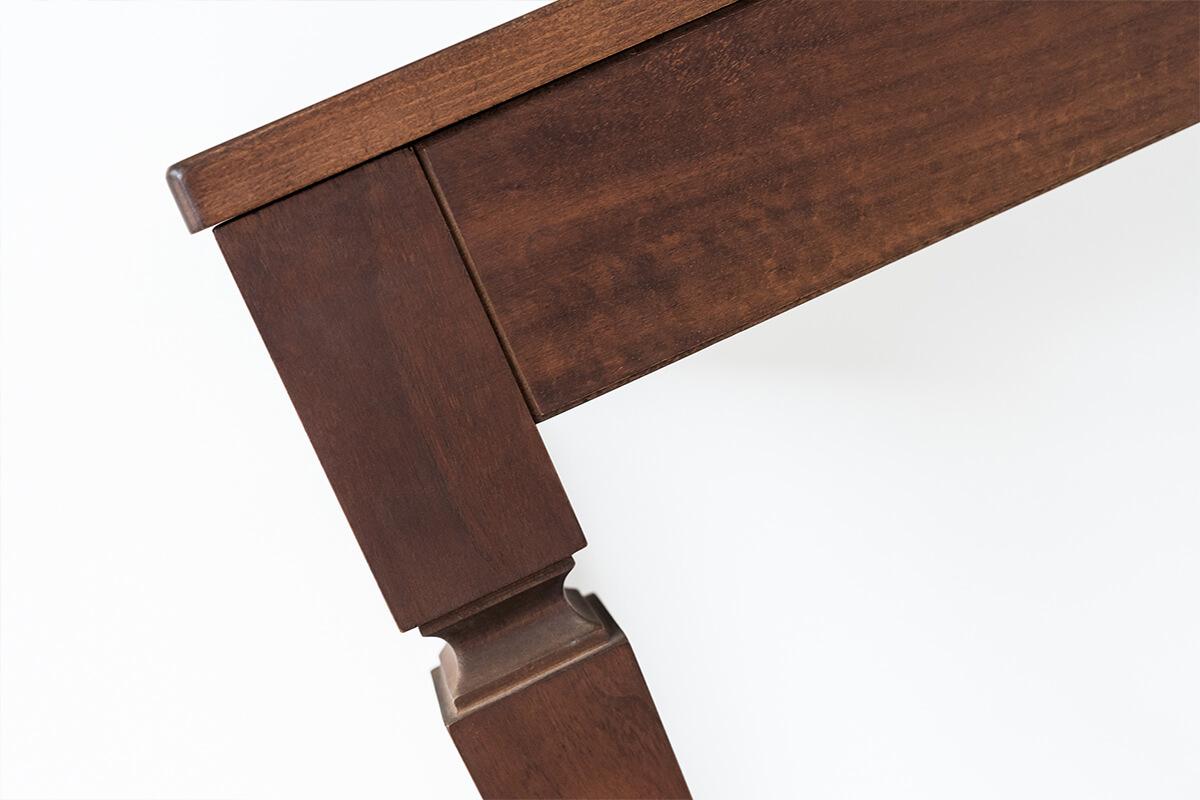 consolle allungabile larghezza 80 cm con guide in alluminio