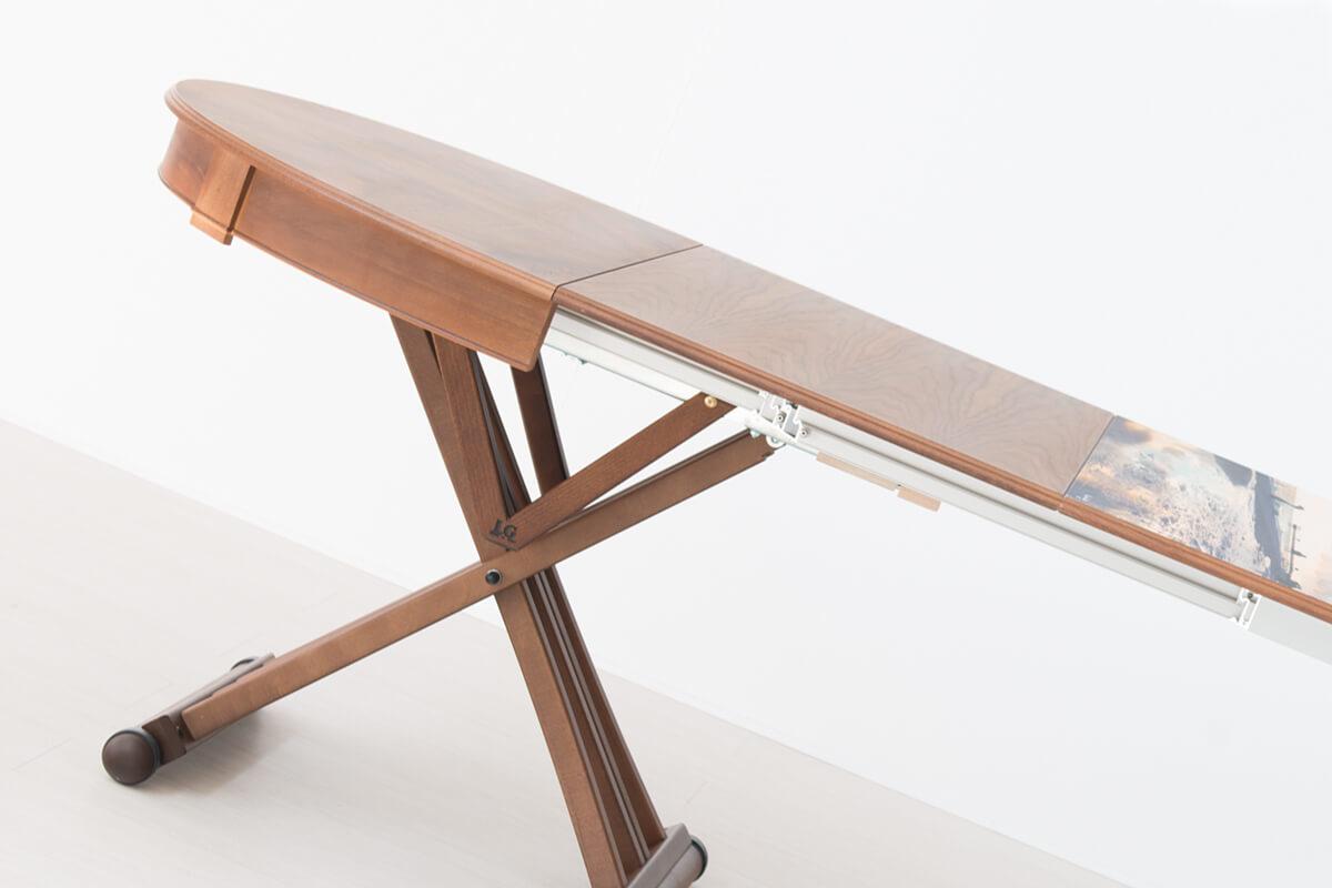 Tavolo ovale allungabile prolunghe