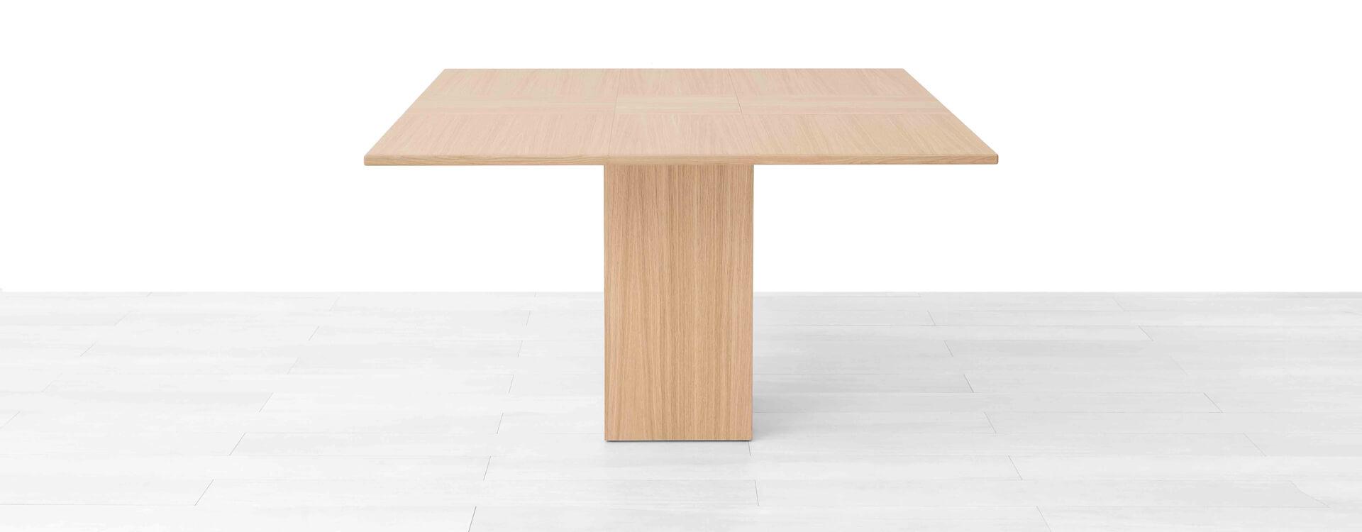 Tavolo quadrato allungabile lg lesmo - Tavolo quadrato 100x100 allungabile ...